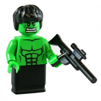 The green Face USB-Stick 16 GB